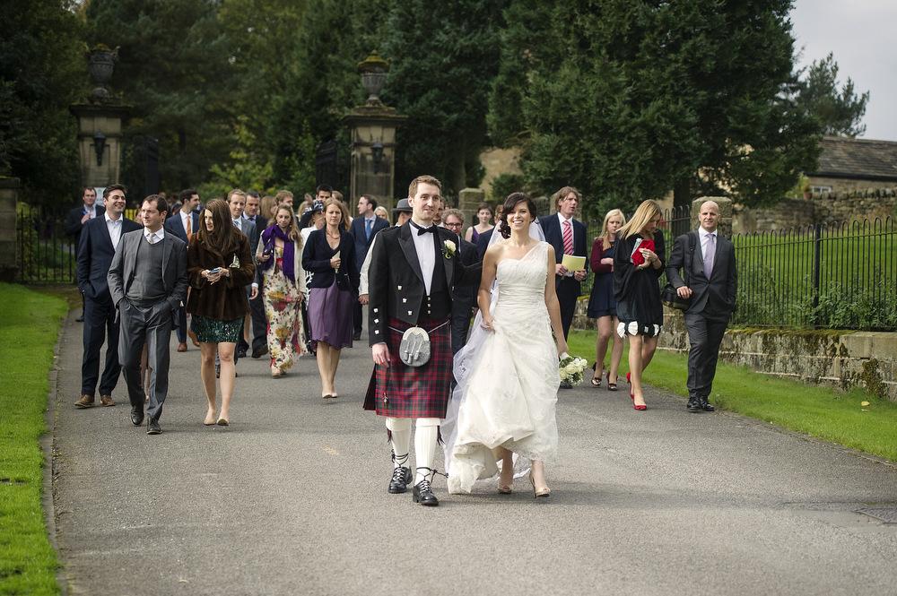 Denton Hall Wedding day