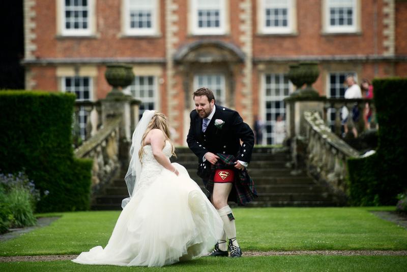 Newby Hall Wedding