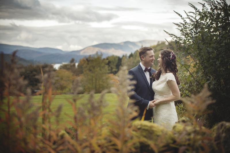 Linthwaite House, Lake Windermere Wedding Photography