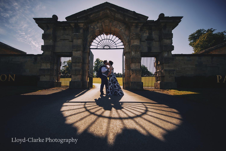 Swinton Park Wedding elopement